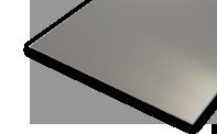 aliuminio lakstai